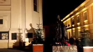 preview picture of video 'Wadowice na świątecznie'