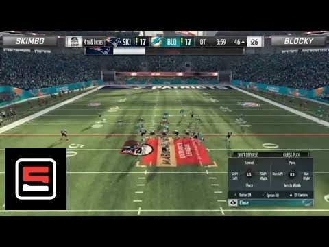 Highlights from Skimbo vs. Blocky Madden Ultimate League Playoff | ESPN