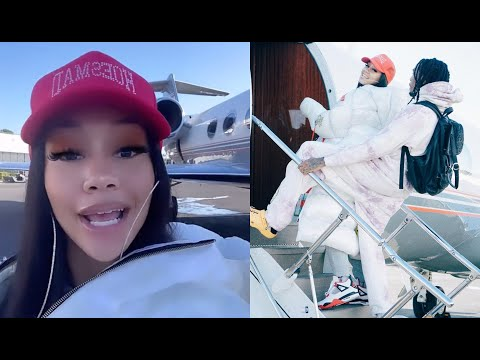Sweetie Buys Her First Private Jet Takes Quavo On Icy Airlines ❄️🥶