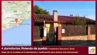 preview picture of video '4 dormitorios Vivienda de pueblo se Vende en Fontpineda, Barcelona, Spain'