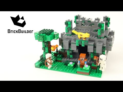 Vidéo LEGO Minecraft 21132 : Le temple de la jungle