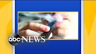 Vaping use skyrockets among kids, report finds