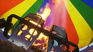 How to fly a hot air balloon