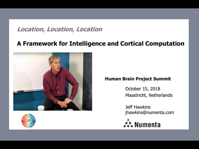 Screencast: Jeff Hawkins presents his Human Brain Project Open Day Keynote