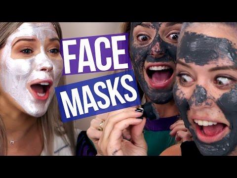 Face mask na may atsitilkoy