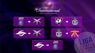 Team Secret VS PSG.LGD - The International 9   Group Stage Day 3