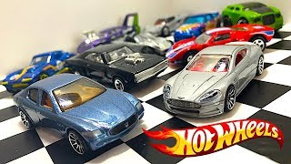 Let's Unbox Hot Wheels: Maserati, Aston Martin, Dodge Charger And More!