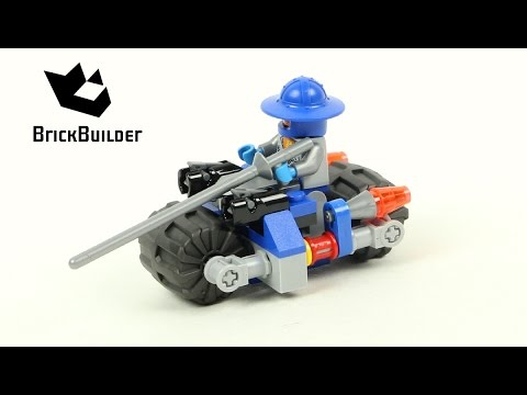 Vidéo LEGO Nexo Knights 30371 : La moto du chevalier (Polybag)