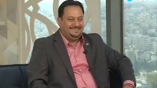 ANB TV Chanal Interviewing Mr. Saka