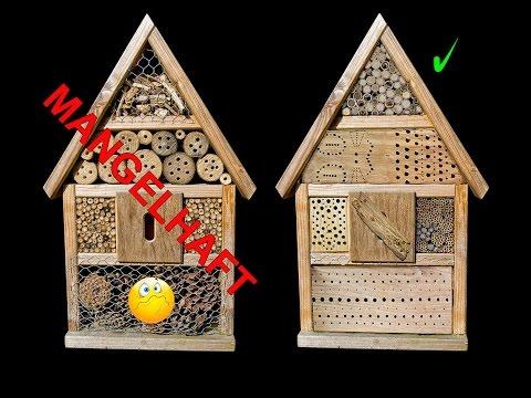 """""""Insektenhotel"""" Neudorff - Alter schützt vor Torheit nicht"""