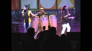 Abba Chiquitita - Ingrid Salas y su Grupo Black Shadow  (Video)