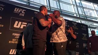 Werdum vs Lewis - Heavyweight Explosion