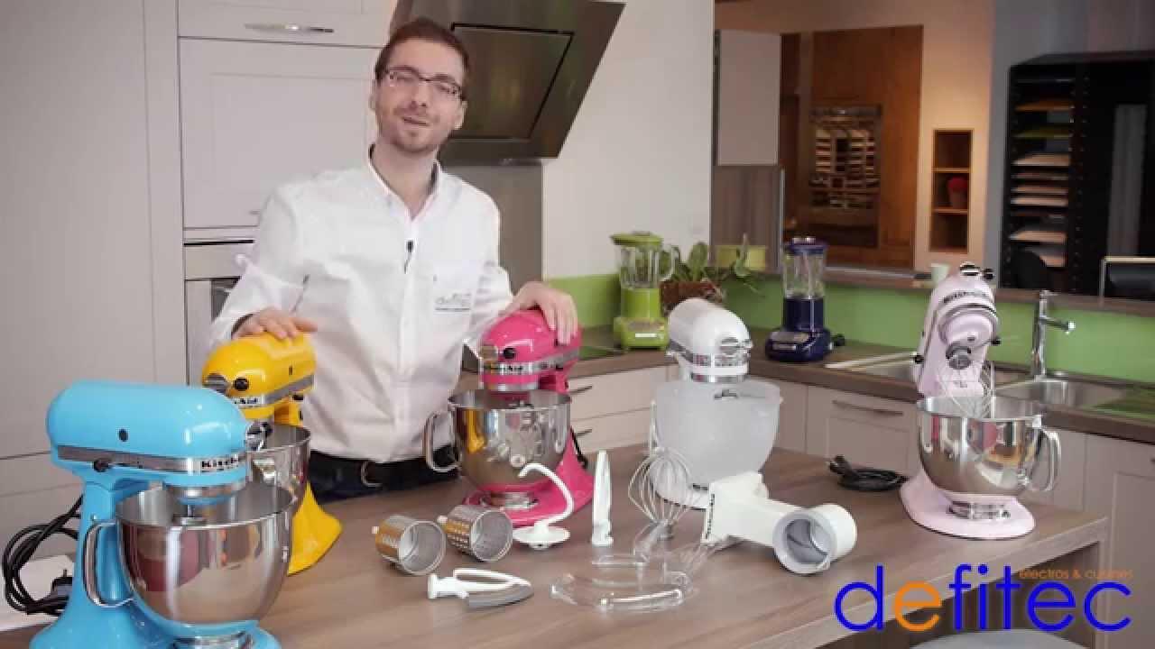Thomas vous présente le robot de cuisine Kitchen Aid Artisan - Electros et Cuisines DEFITEC