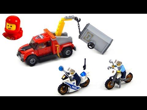 Vidéo LEGO City 60137 : La poursuite du braqueur