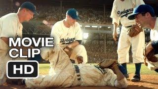 42 Movie CLIP - Get Me Up (2013) - Jackie Robinson Movie HD