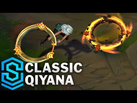 , title : 'Classic Qiyana, the Empress of the Elements - Ability Preview - League of Legends'