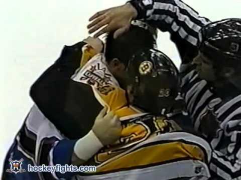 Brendan Witt vs. Martin Lapointe