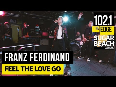 Franz Ferdinand - Feel the Love Go (Live at the Edge)