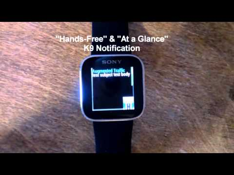 Video of Augmented SmartWatch Notify