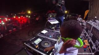 DJ Arch Jnr Headlining  Shayas  2016 In Shuma Park (4yrs) Worlds Youngest DJ