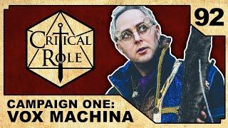 Deals in the Dark | Critical Role RPG Episode 92