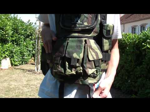 gilet tactique Annex Paintball [Full HD]