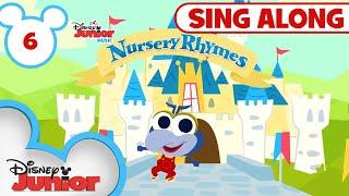 Sing-Along Nursery Rhymes Part 6 | 🎶Disney Junior Music Nursery Rhymes | Disney Junior