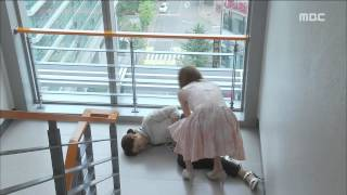 [Eve Love] 이브의 사랑 71회 - Song-ah Falls Down The Stairs 'miscarriage'?! 송아, '유산'?!20150824