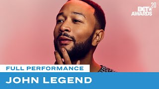"John Legend Inspires With A Powerful Performance of ""Never Break"" 