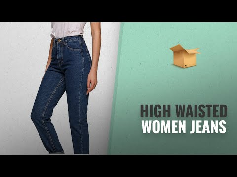 Our Top High Waisted Women Jeans For 2018: Skinny Jeans,Women's Casual Destroyed Ripped Distressed