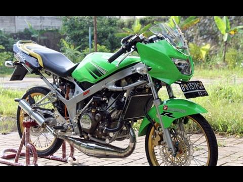 Video Video Modifikasi Motor Kawasaki Ninja R Modif Velg Jari-jari Keren Terbaru Part 2