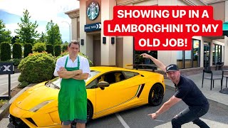 I FIRED MY BOSS THEN CAME BACK IN A LAMBORGHINI 2 YEARS LATER