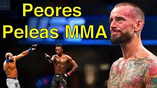 Las Peores Peleas de la Historia de MMA