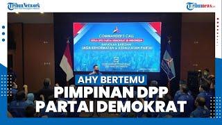 AHY Bertemu Pimpinan DPD Partai Demokrat, Konsolidasi Bentuk Kesetiaan dan Kebulatan Suara Kader