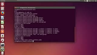 Samba Server - Benutzerverwaltung unter Linux