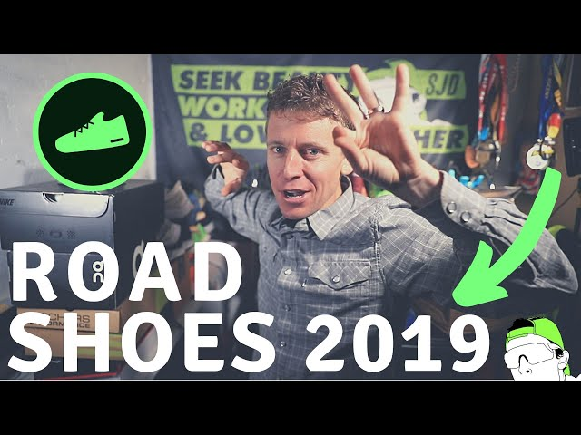 My Top 3 Road Running Shoes of 2019