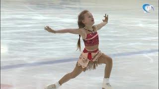 На открытые соревнования по фигурному катанию съехались юные спортсмены из разных регионов России
