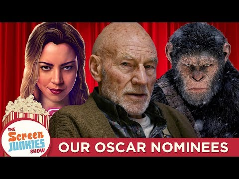 Screen Junkies 2017 Oscar Nominations: Our Academy Awards Picks