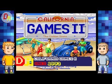 Dome Rockers Play California Games II (Head 2 Head) -  SNES Retro Gaming