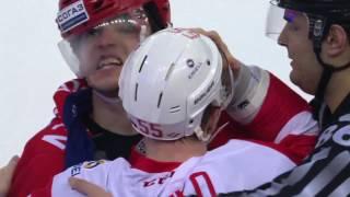 KHL Fight: Sergeyev VS Tolpeko