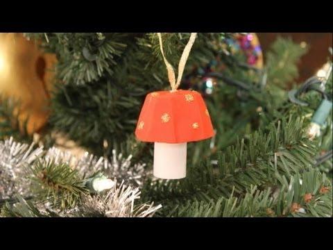 Bricolage Noel: Champignon