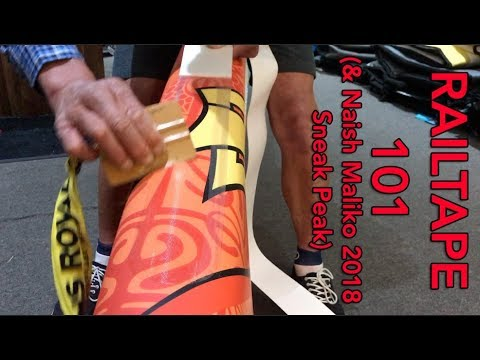 Railtape 101 & Naish Maliko 2018 Sneak Peak
