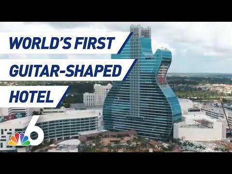 Hotel u obliku gitare na Floridi
