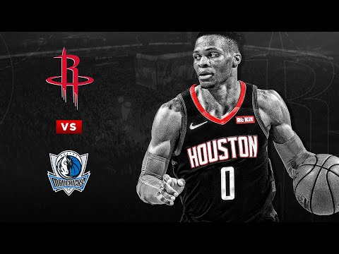 Houston Rockets vs Dallas Mavericks: Full Game Highlights: 07/31/2020: NBA RETURN