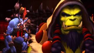Garrosh end...From this day forward Voljin, If you lead..I will follow.!!