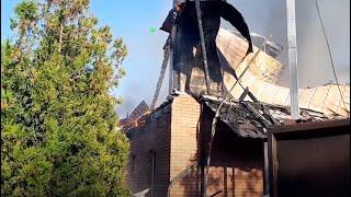 У Немишлянському районі вогонь знищив швацький цех
