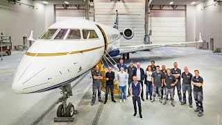 The world's First Aircraft Finished in Sun King Diamond Coating