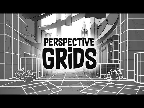 adobe photoshop perspective grid by bam animation