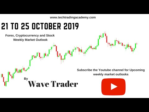 Cryptocurrency, Forex and Stock Webinar and Weekly Market Outlook from 21 to 25 October  2019