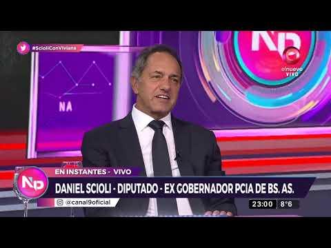 Scioli: ''Tengo una muy buena relación con Alberto Fernández''